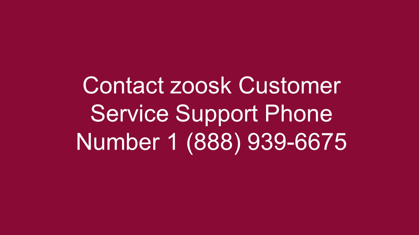 Contact zoosk phone number
