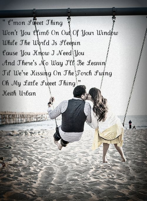 Country music love songs.