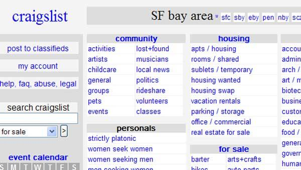 Craigslist east bay area personals