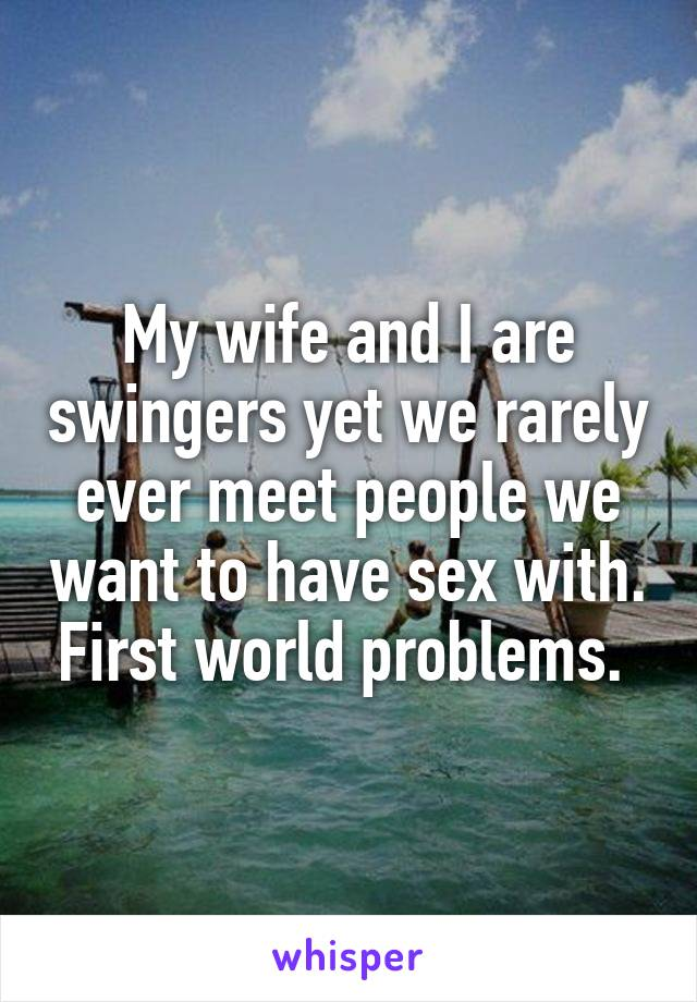 Swinger problems