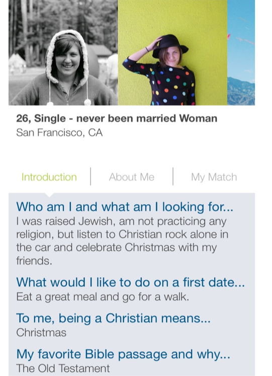 amy is conducting a survey of dating attitudes