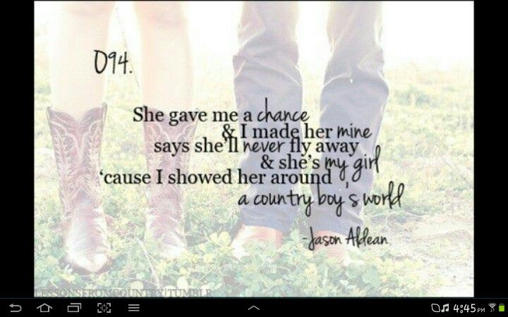 Country songs about her