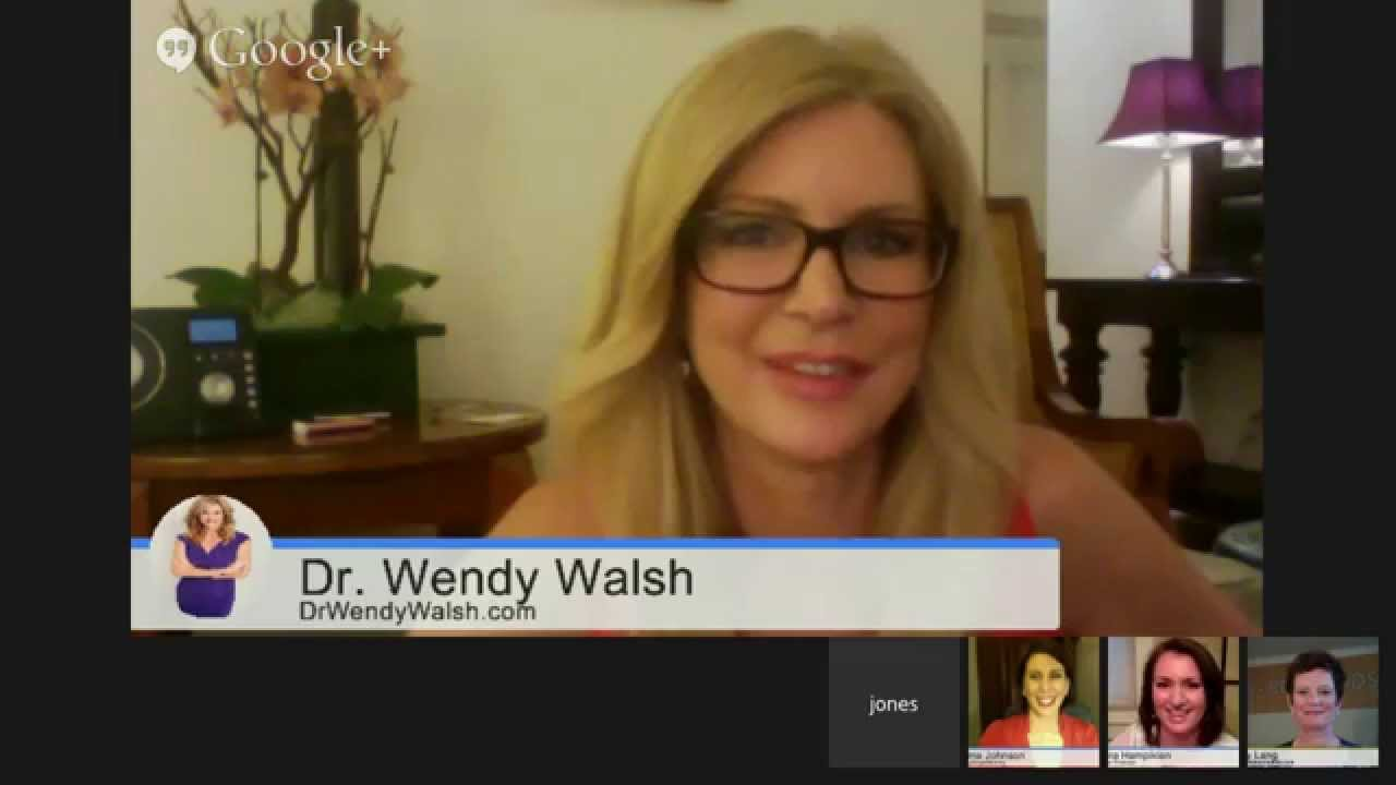 Dr wendy walsh daughter