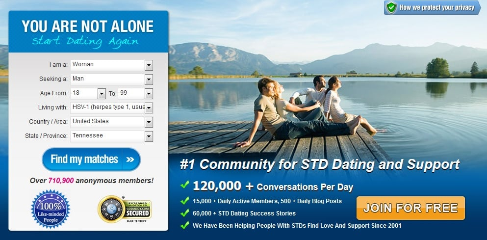 Hpv dating websites