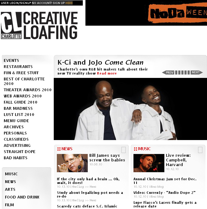 Creative loafing personals