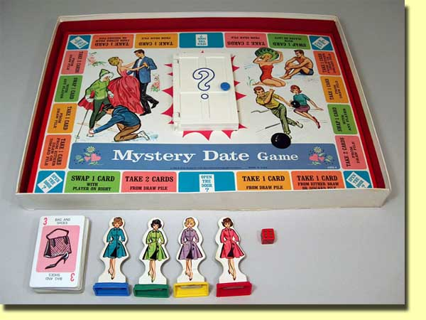 Dating game board game