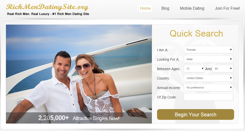 Rich guys dating site