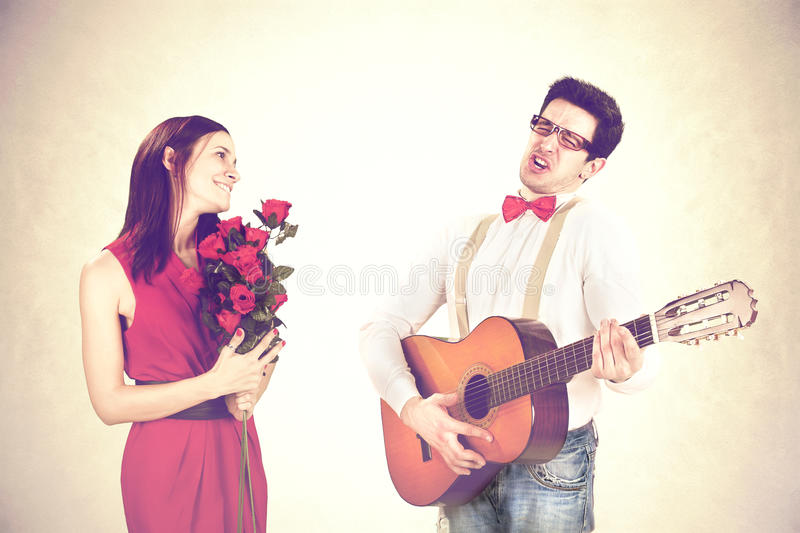 How to serenade a guy