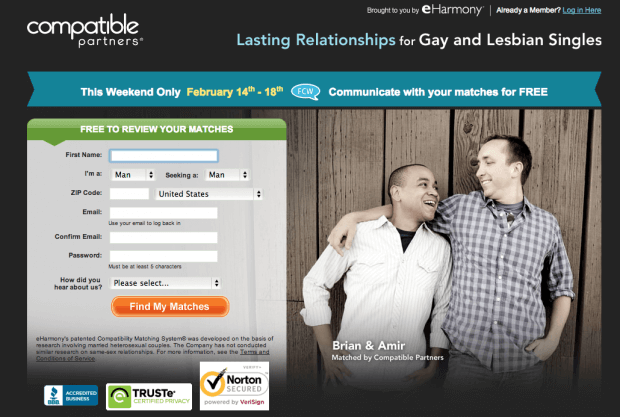 Eharmony compatible partners