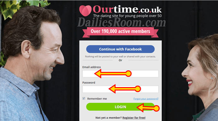 Ourtime com dating reviews