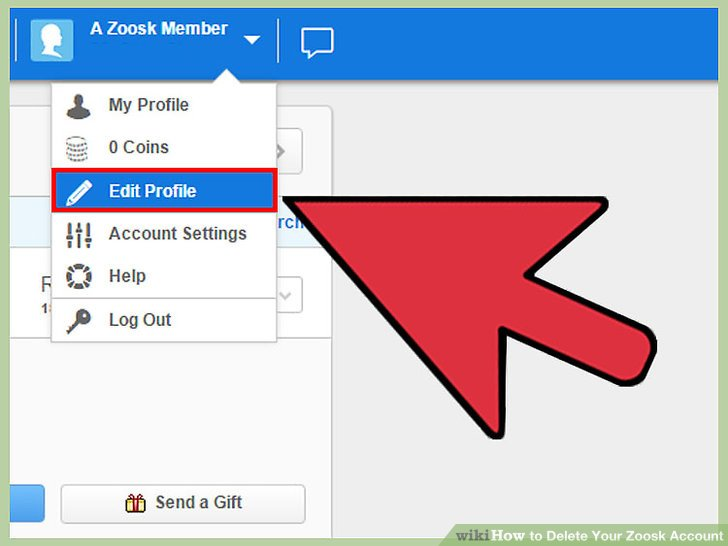 Delete zoosk from phone