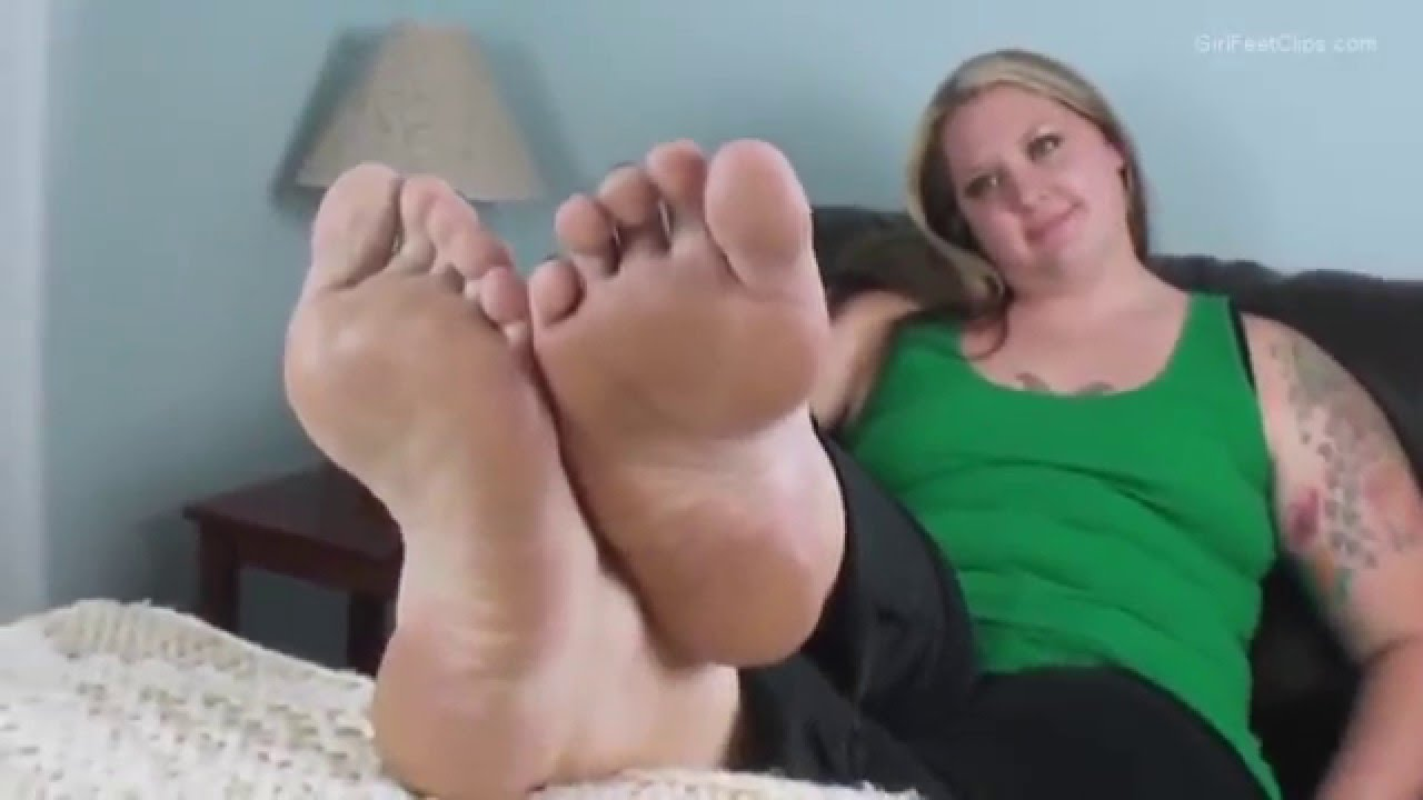 Fat girl foot worship