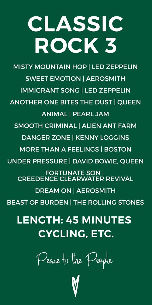 Meaningful classic rock songs