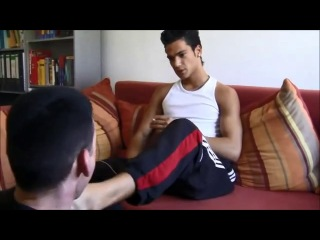 Feet gay domination
