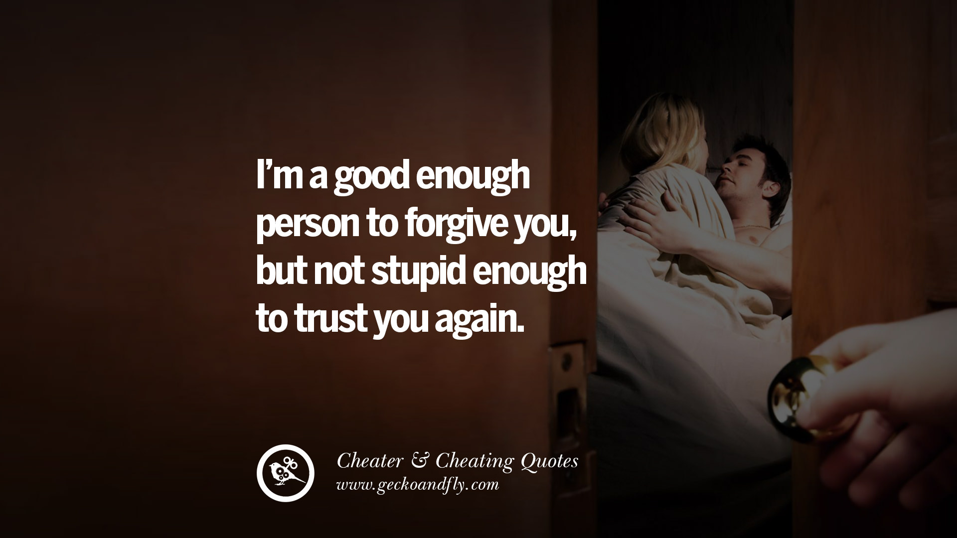 Forgiving a cheating boyfriend