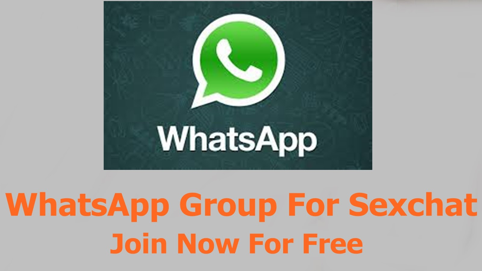 Free group sex chat