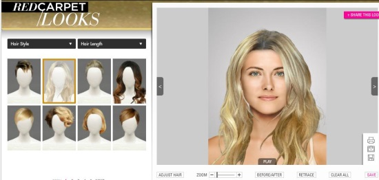 Free virtual makeover upload photo