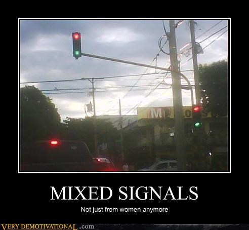 Getting mixed signals from a woman
