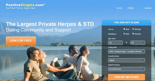 Herpes positive dating