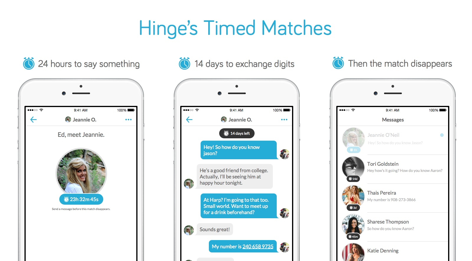 Hinge matches