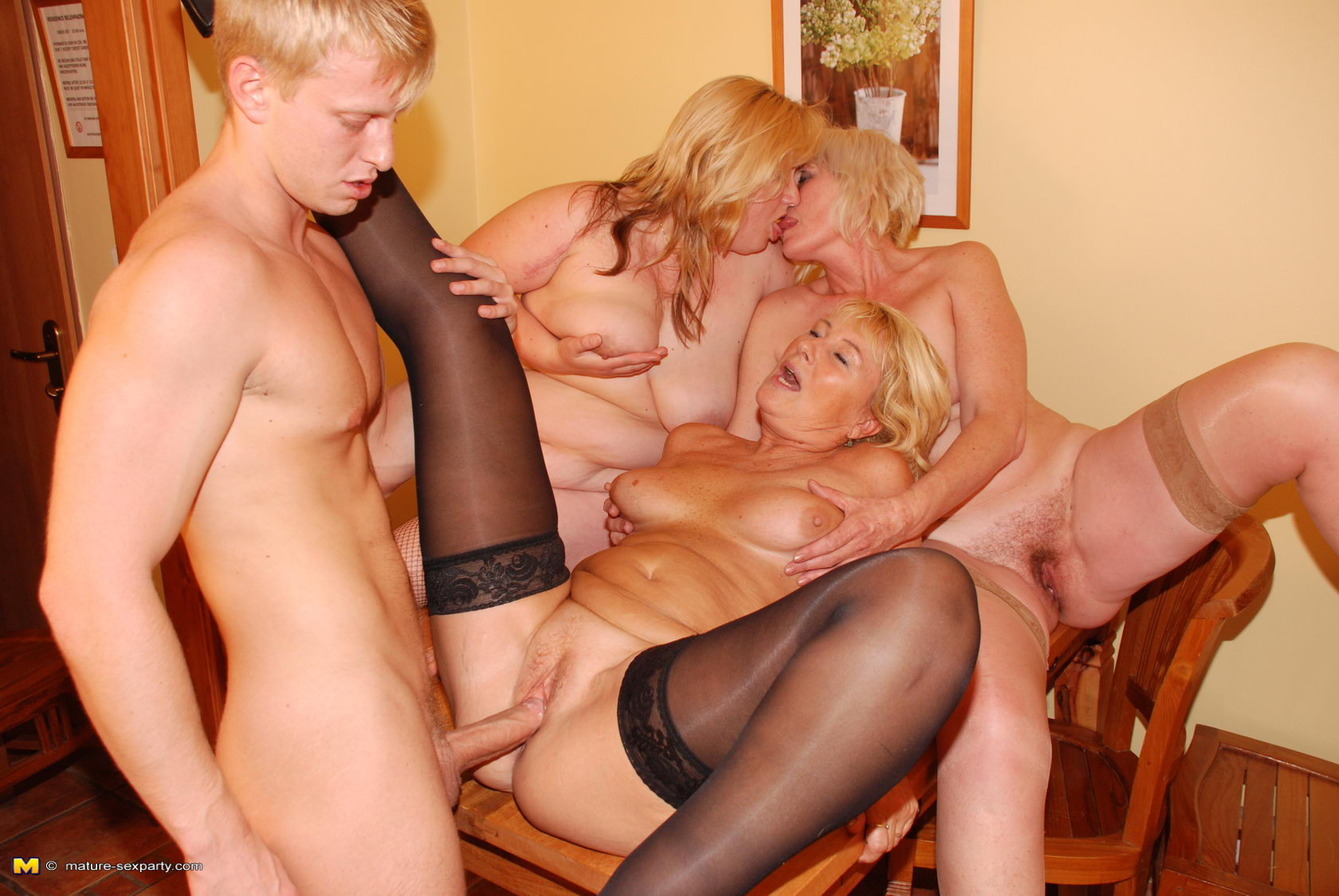 Horny older mature