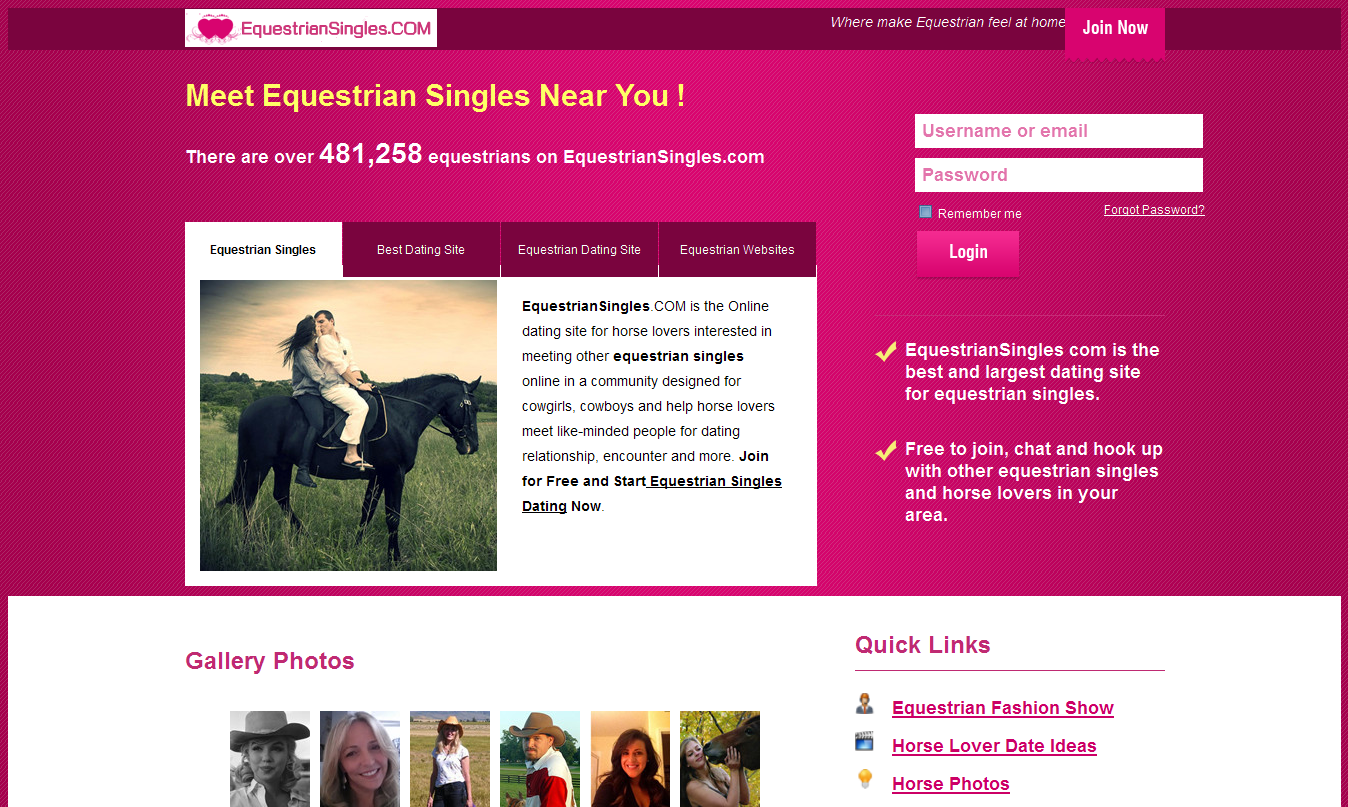 Horse lovers dating site free