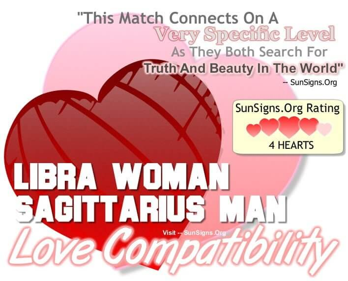 How compatible are libra and sagittarius