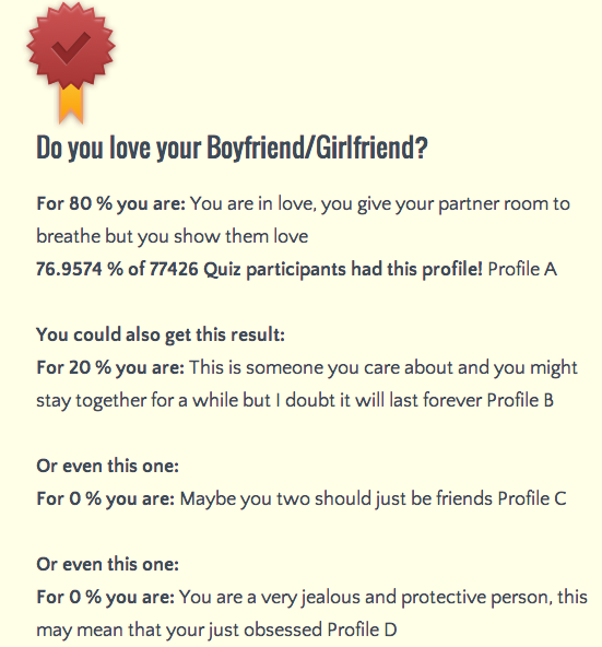 How do you know if your boyfriend loves you quiz