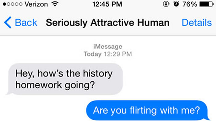 How to flirt in texts