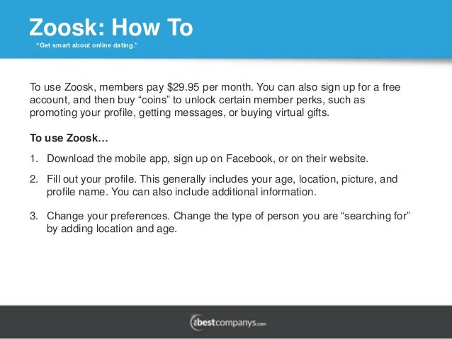 How to pay for zoosk
