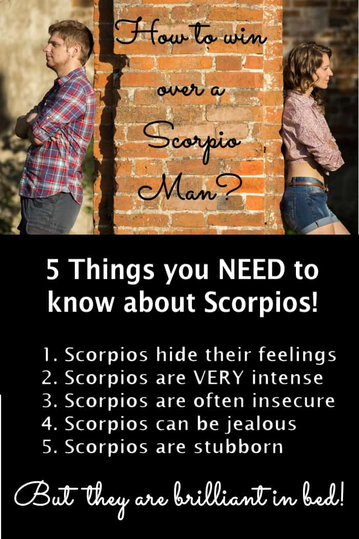 How to win back a scorpio man