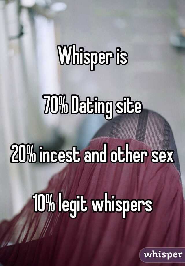 Incest dating sites
