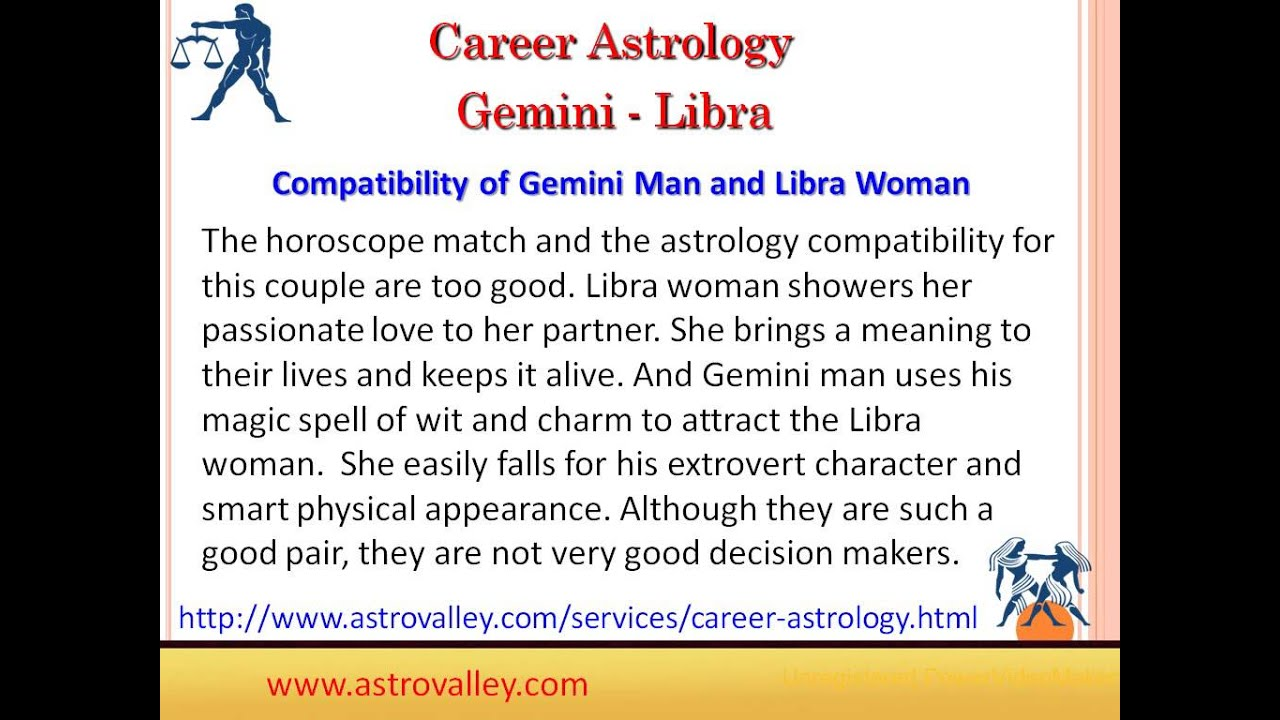 Is a gemini and libra compatible