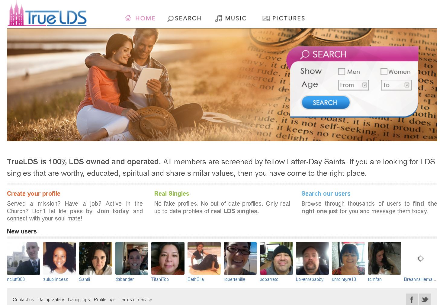 Lds singles dating sites