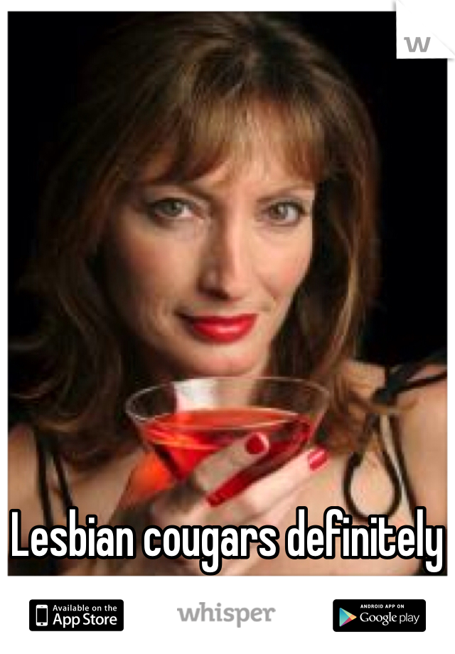 Lesbian cougars exist