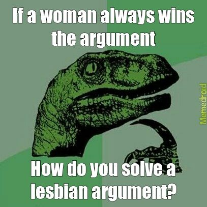 Lesbian funny quote