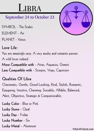 Libra compatible zodiac signs