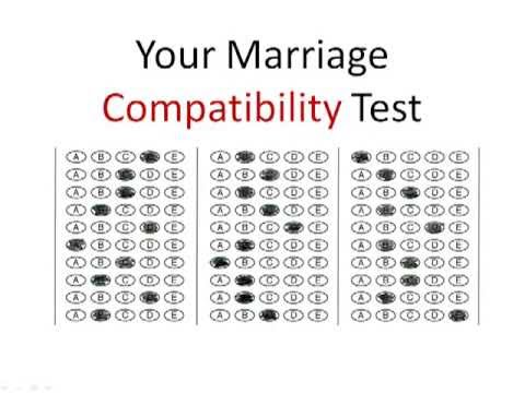 Marriage compatibility testing by date of birth