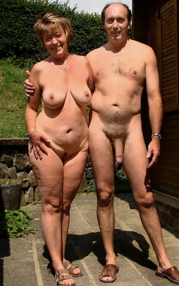 Old nudist