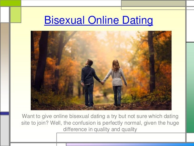 Online dating for bisexual