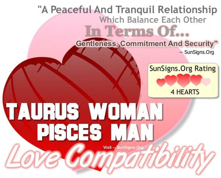 Pisces and taurus compatibility 2017