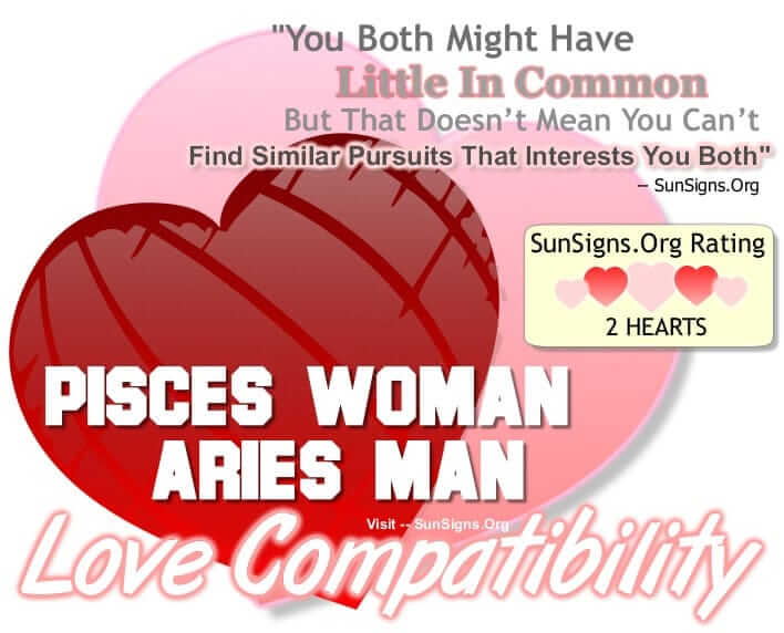 Pisces dating aries