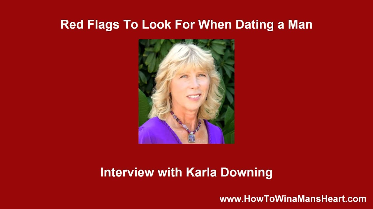Red flags when dating men