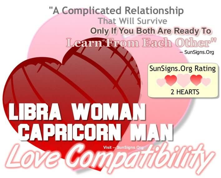 Relationship between libra and capricorn