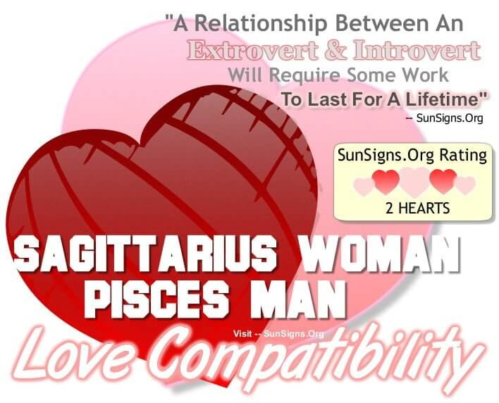 Sagittarius and pisces marriage compatibility