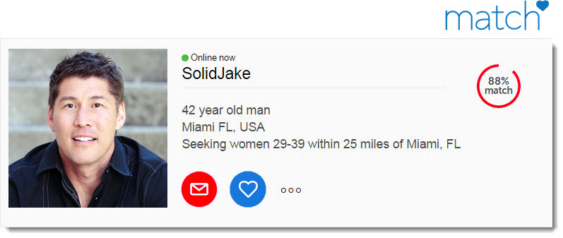 Sample profile for dating
