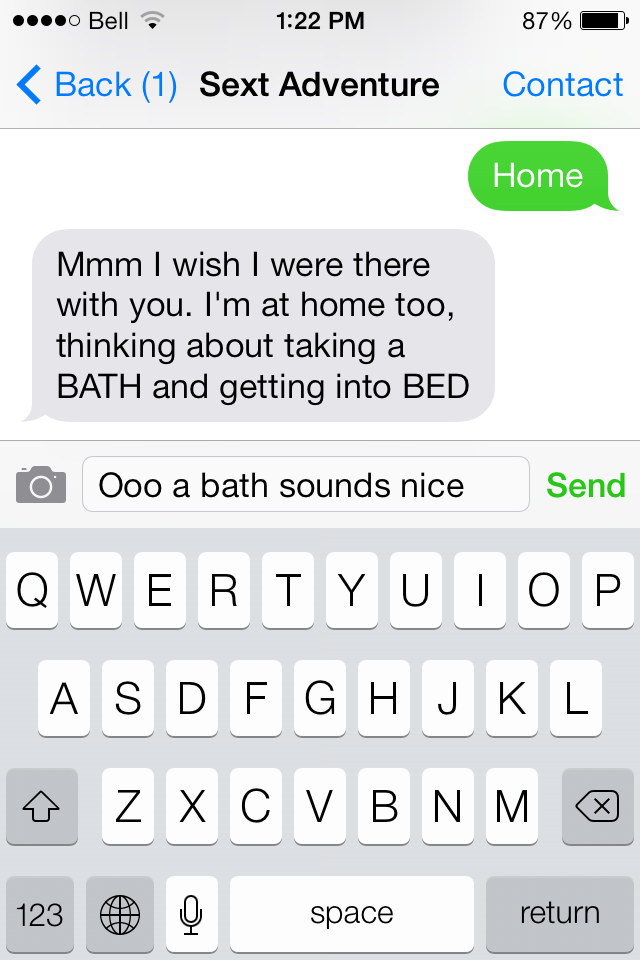 Sexting games for couples
