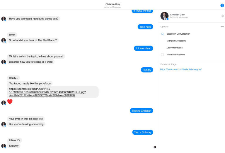 Sexy chat messenger