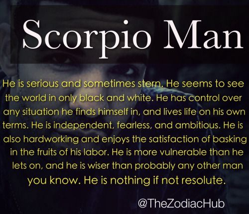 Signs scorpio man is in love with you