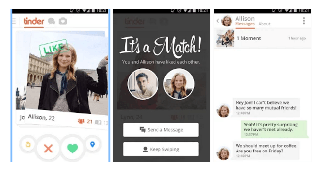 Tinder dating review